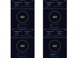4G broadband speed variations